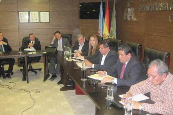 Representantes de la FEPC en la reunión de ayer./ Fuente Los Tiempos