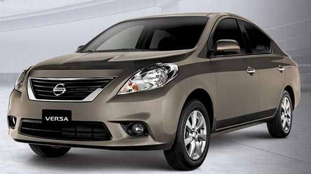 Nissan Versa./ Fuente nissan.com.bo