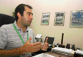 Mario Herrera, gerente general de Fexpocruz./ El Deber