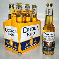 Cerveza Corona./Fuente es.wikipedia.com
