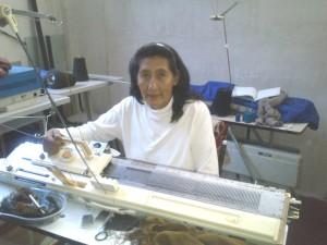 Lucila Chucatiny, creadora de Chucatiny, Tejidos Artesanales.