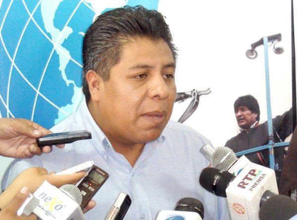 Iván Cahuaya de Promueve Bolivia./Fuente El Diario