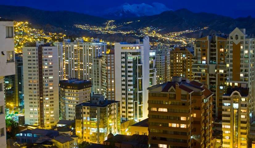 Ciudad de La Paz./ Foto Tony Suarez www.votaporlapaz.com