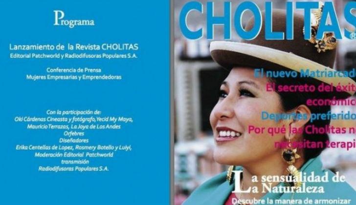 """""""Cholitas"""" es denomida como la """"Vogue andina""""./Fuente lr21.com.uy"""