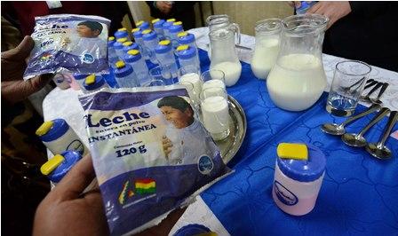 Entre julio y septiembre se incrementó el consumo de leche./Fuente El Día