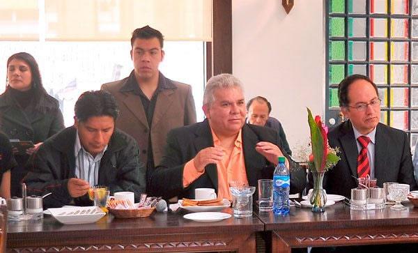 Gerardo Dick, presidente ejecutivo de FIpaz.