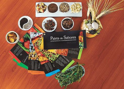 Muestra. El libro de los 50 sabores y algunos de los alimentos y productos únicos que ofrece el país al mundo. Fotos: Miguel Carrasco.