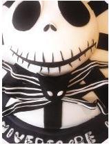 """Molde de """"Jack"""" personaje principal de """"El Extraño mundo de Jack"""", elaborado por Sweet Factory./ Página Siete"""