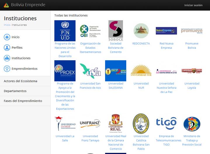 bolivia emprende plataforma para emprendedores