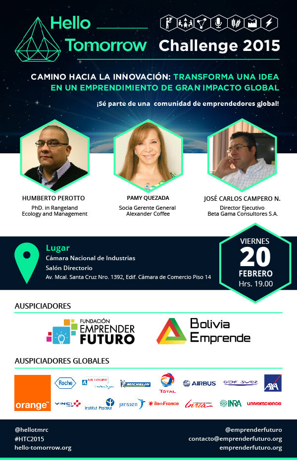 hello tomorrow 2015 bolivia emprende