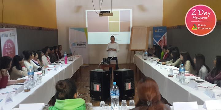 2 day mujeres bolivia emprende viviana Coloma