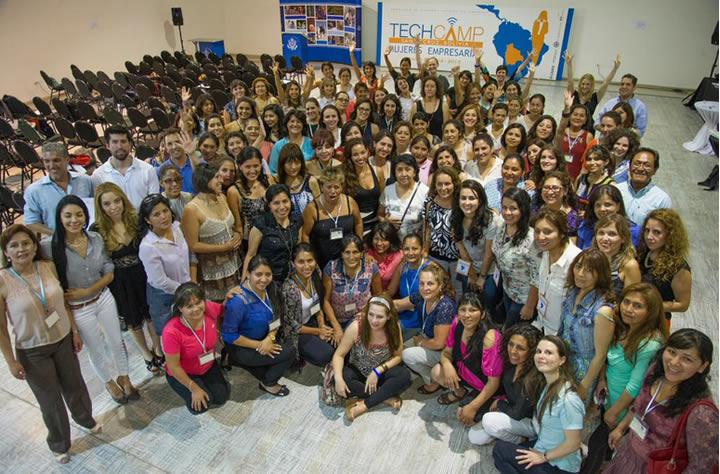 tech camp mujeres empresarias 2015