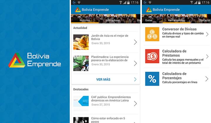 bolivia emprende app
