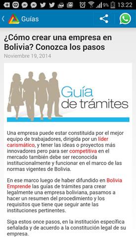 bolivia emprende guias