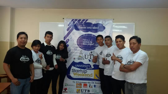 equipo organizador startuo weekend utb