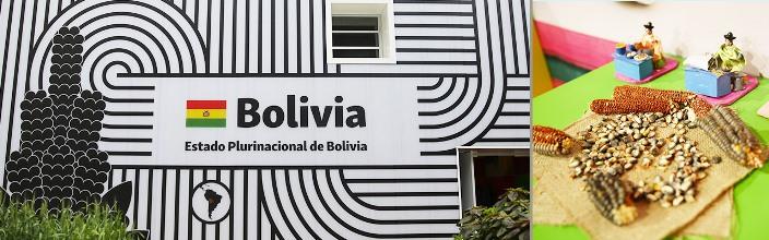 Bolivia expomilano