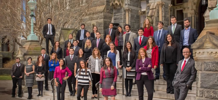 becas gcl program georgetown 2015
