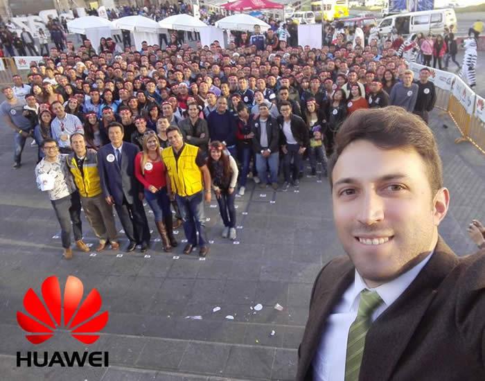 selfie Huawei