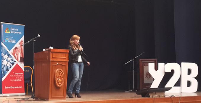 Pamy Quezada conferencia