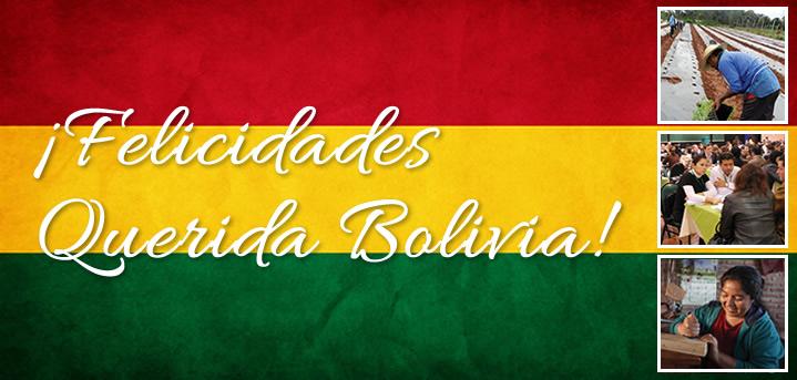 felicidades aniversario bolivia