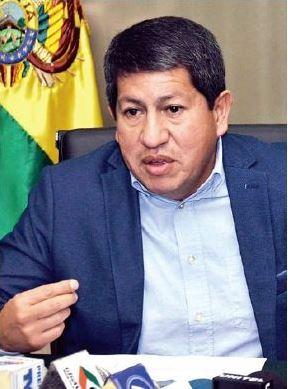 Ministro de Hidrocarburos, Luis Alberto Sánchez Fuente: La Razón