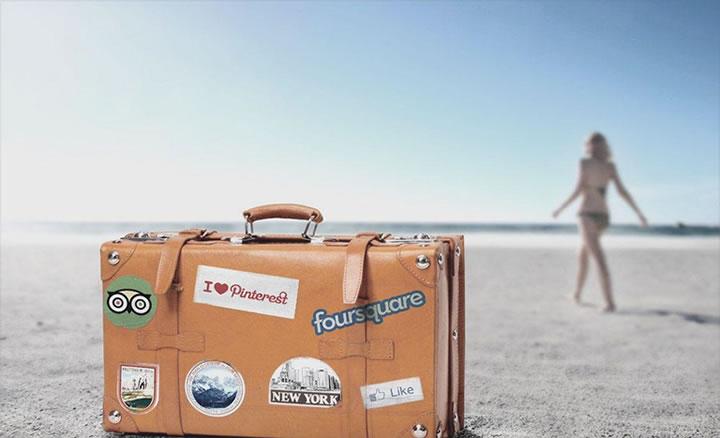 viaje social media