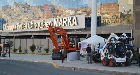 Maquinaria-pesada-puertas-Chuquiago-Marka_feria indutrial