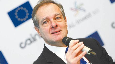 Sergio Marinelli, jefe de la Sección Política de la Unión Europea (UE) Fuente: La Razón