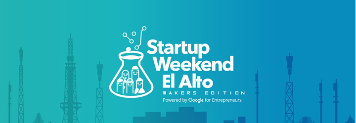 startup weekend El alto banner